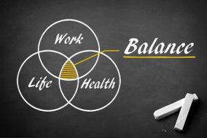 איזון בין עבודה בריאות ואורח חיים